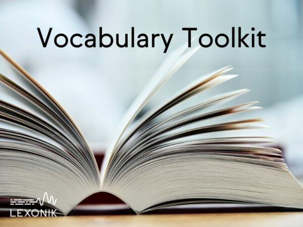 Vocabulary Toolkit free download